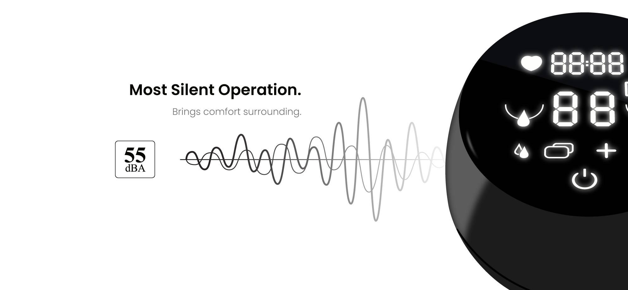 Silent operation