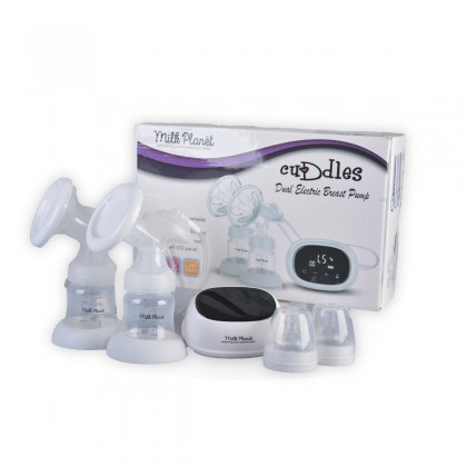 Milk Planet Cuddles Dual Electric Breastpump 9 Level Suction